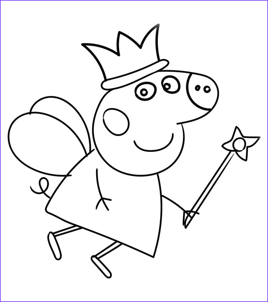 peppa pig coloring pages little ones
