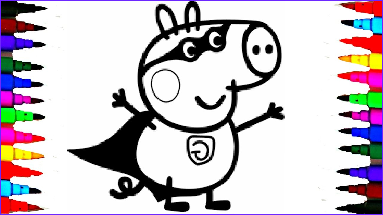 Peppa Pig Coloring Book Luxury Collection Coloring Pages Peppa Pig Charlie the George Pig