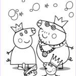 Peppa Pig Coloring Book Unique Photos Peppa Pig S Royal Family Coloring Page
