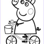 Peppa Pig Coloring Pages Beautiful Image Peppa Pig Coloring Pages