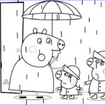 Peppa Pig Coloring Pages Inspirational Image Peppa Pig Mummy Pig Rain Coloring Book Pages Kids Fun