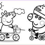 Peppa Pig Coloring Pages Unique Photos Peppa Pig George Coloring Pages At Getdrawings