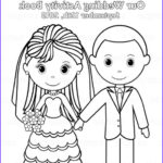 Personalized Adult Coloring Books Cool Photos Printable Personalized Wedding Coloring Activity Book