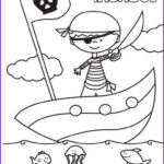 Personalized Coloring Pages Best Of Images Free Personalized Pirate Coloring Sheet for Kids Saving
