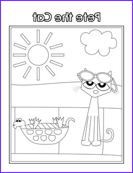 3 Pete the Cat Coloring Pages