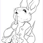 Peter Rabbit Coloring Pages Beautiful Images Peter Rabbit Eating Radishes Coloring Page
