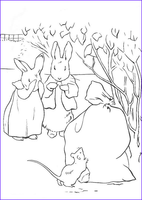 Peter Rabbit Coloring Pages Best Of Image Kids N Fun