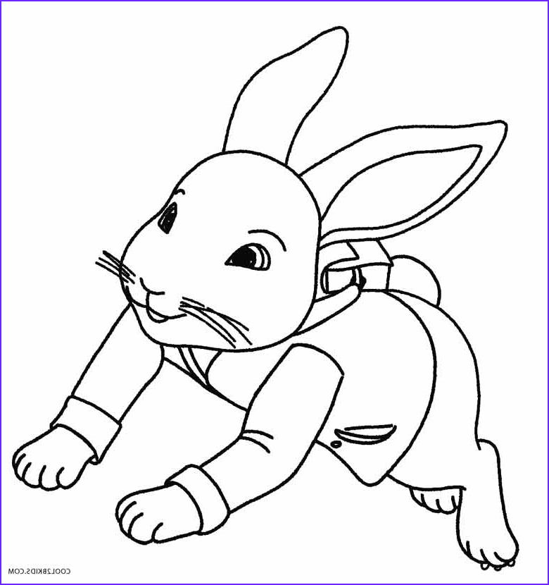 Peter Rabbit Coloring Pages Best Of Photos Printable Rabbit Coloring Pages for Kids