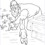 Peter Rabbit Coloring Pages Elegant Collection Peter Rabbit Is Spotted By Mr Mcgregor Coloring Page