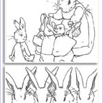 Peter Rabbit Coloring Pages Elegant Gallery Beatrix Potter Coloring Pages