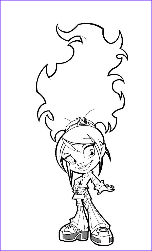 trollz characters coloring pages 2