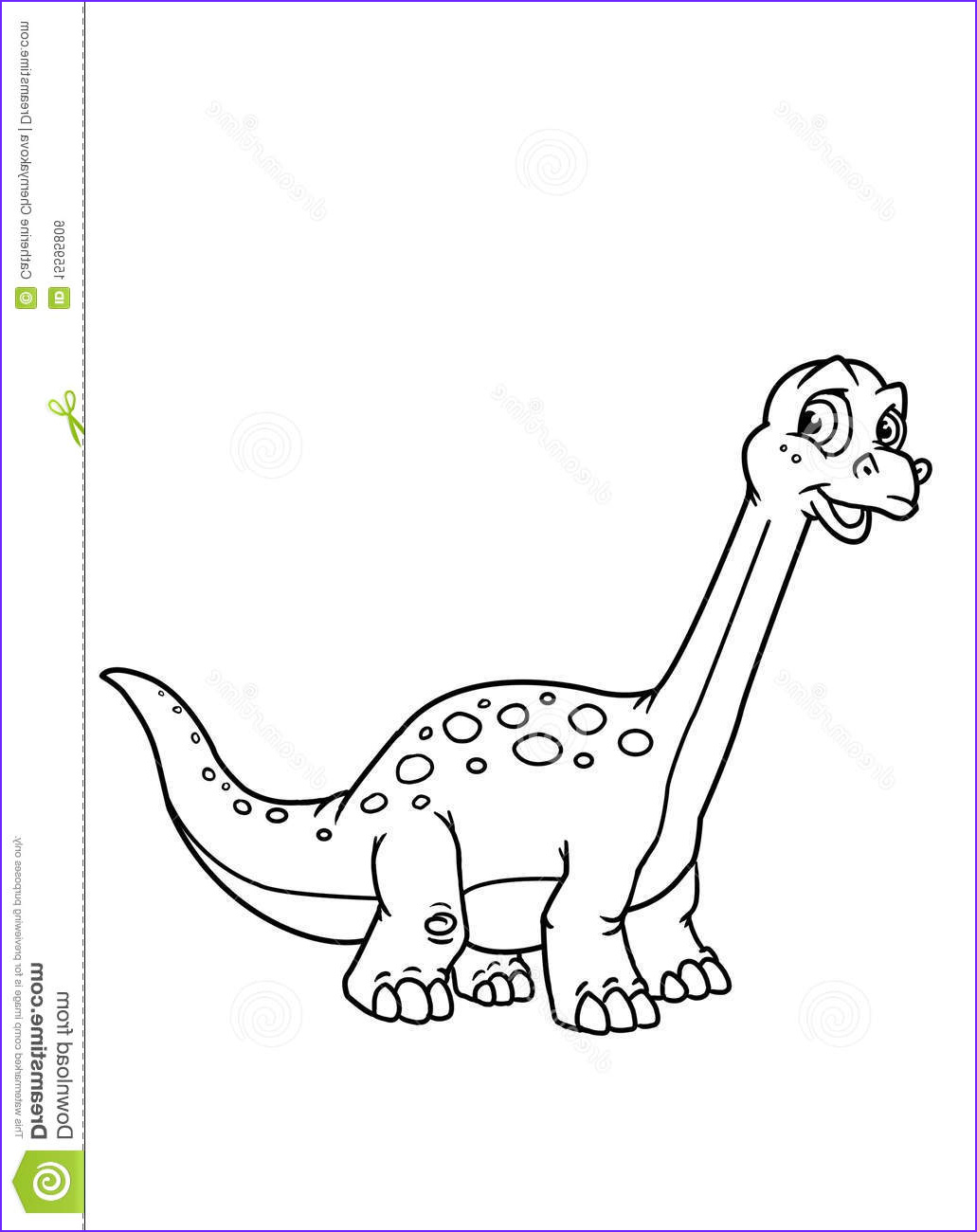 royalty free stock image coloring pages dinosaur image