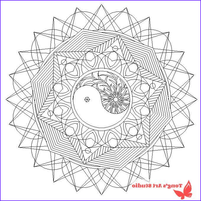 Photo To Coloring Page Luxury Photos Mandala Coloring Page 014