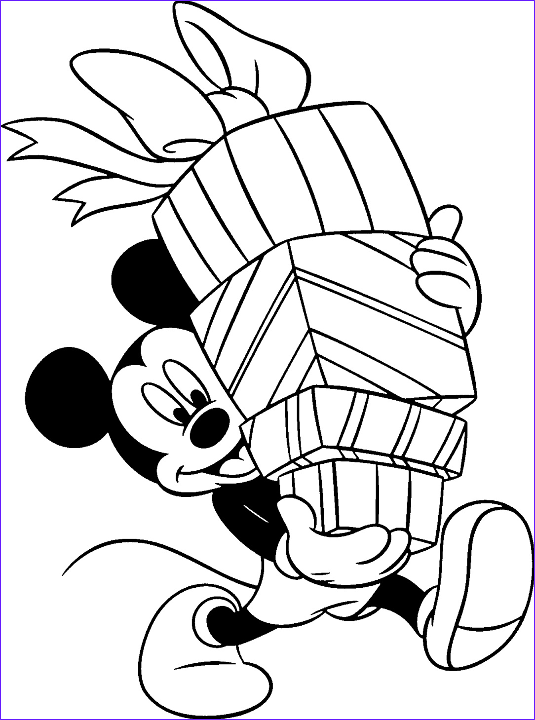 mickey mouse disney coloring pages
