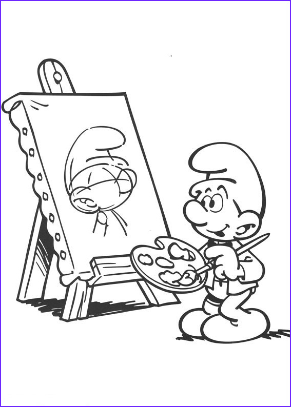 Photos Into Coloring Pages New Gallery the Smurfs Coloring Pages Free Printable Coloring Pages