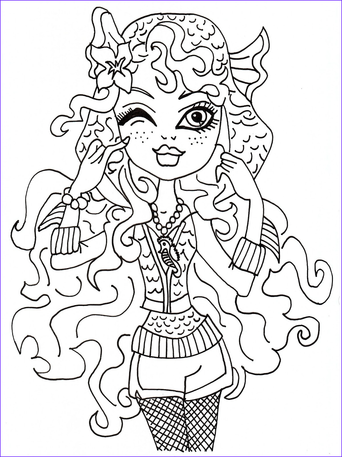 Photos Into Coloring Pages New Stock Free Printable Monster High Coloring Pages May 2013