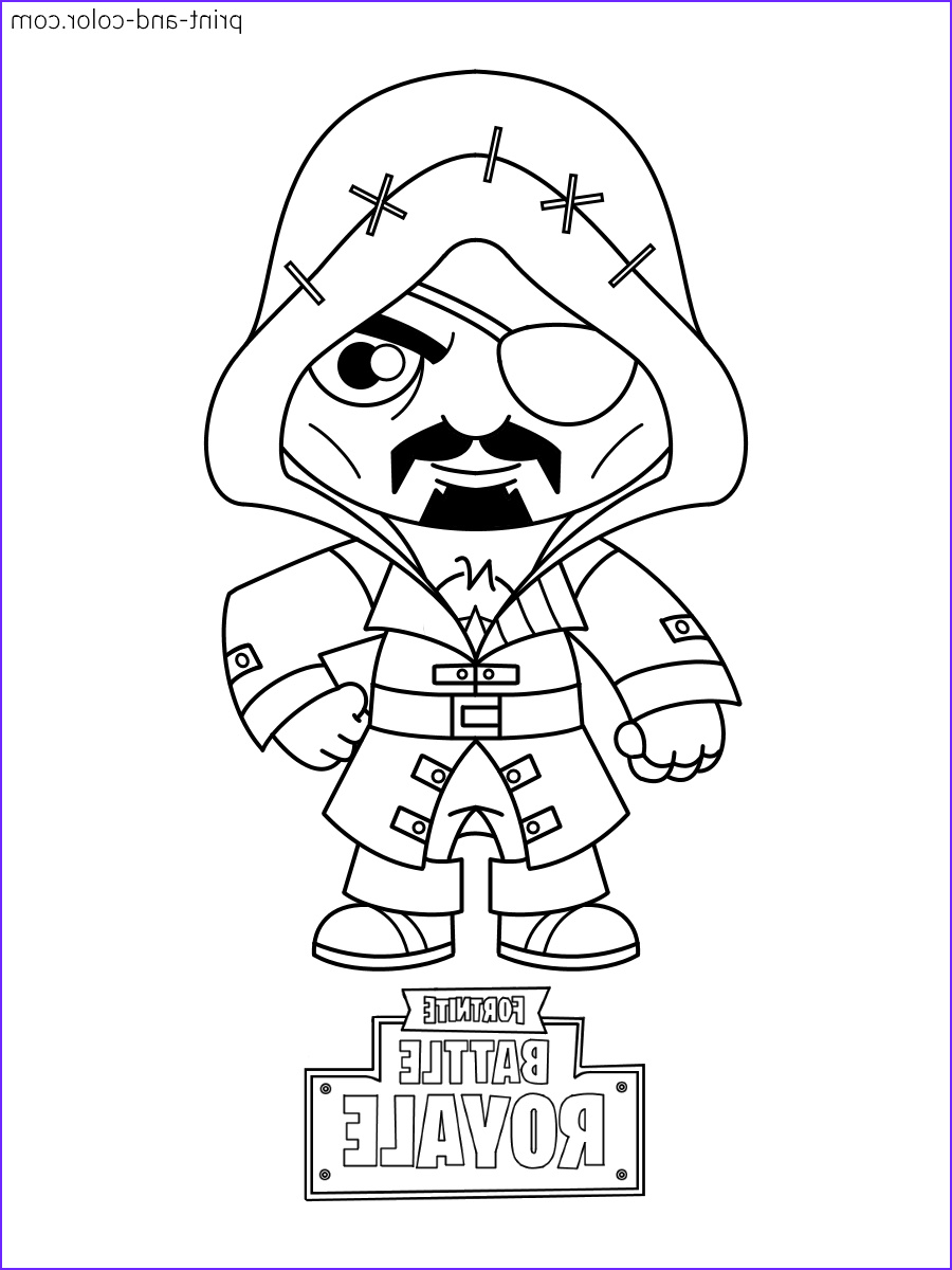 Pictures to Coloring Pages Beautiful Collection fortnite Coloring Pages