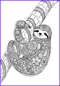 Pictures to Coloring Pages Best Of Stock Adult Coloring Pages Sloth
