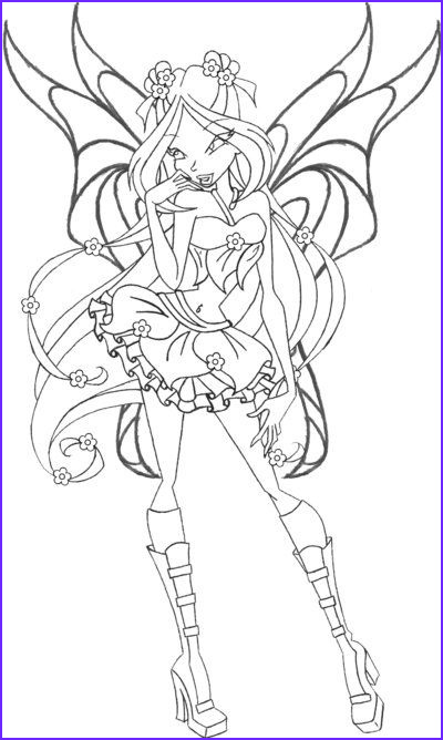 Pictures to Coloring Pages Cool Photography Flora Speedix Wings by An81angel