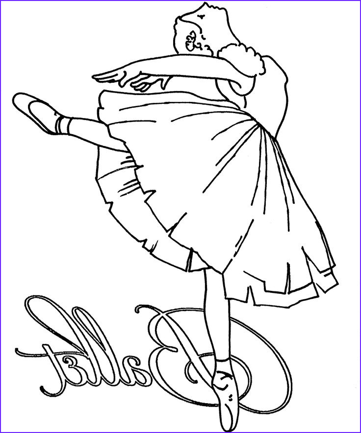 ballerina coloring pages pinterest
