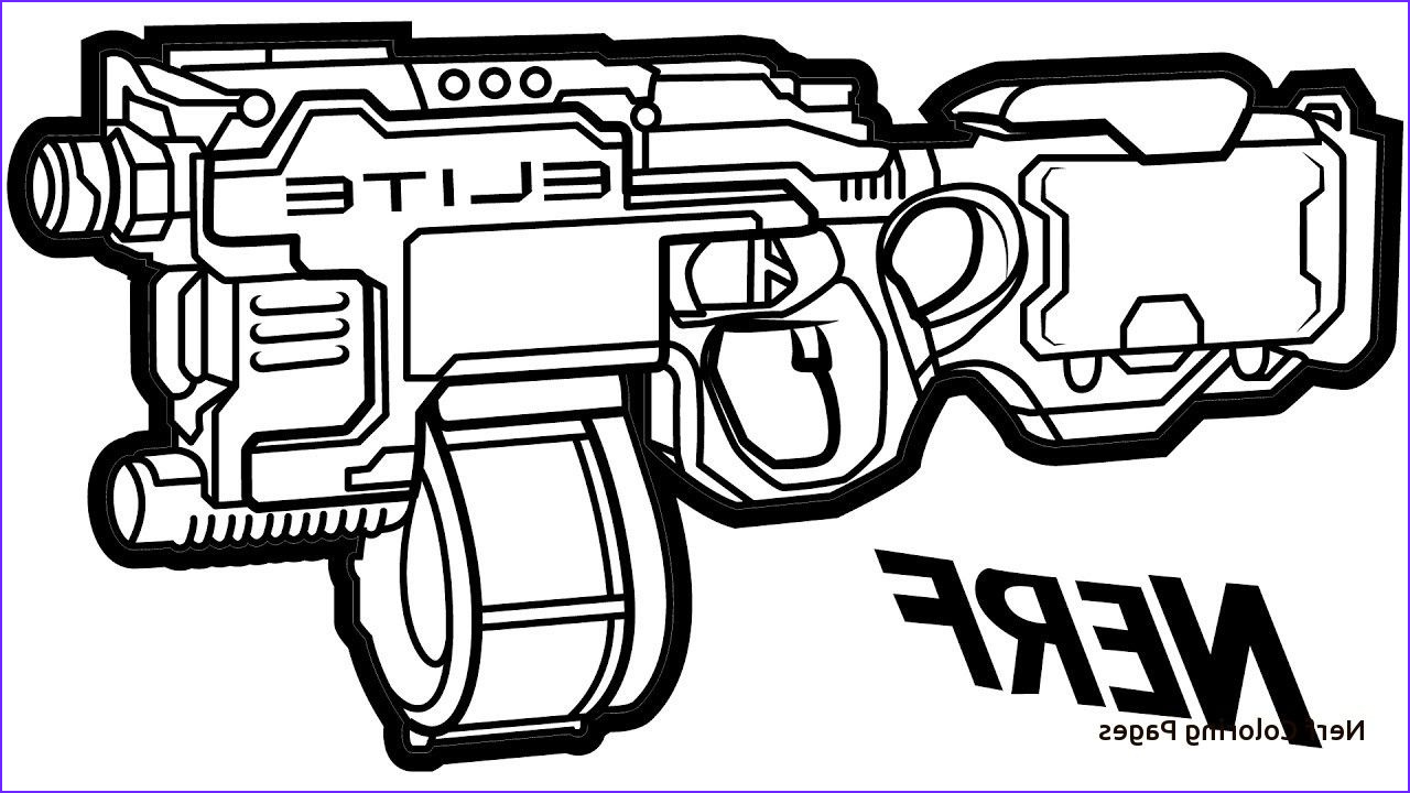 Pinterest Coloring Pages Best Of Image Nerf Gun Coloring Pages to Pin Pinterest Pinsdaddy with