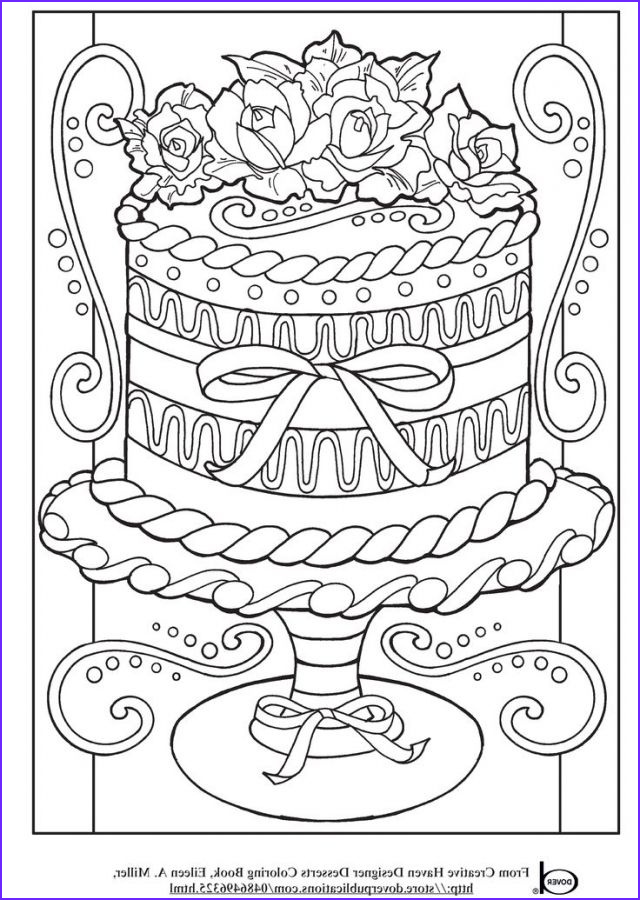 Pinterest Coloring Pages Unique Collection Realistic Wedding Cake Advanced Coloring Pages for Grown