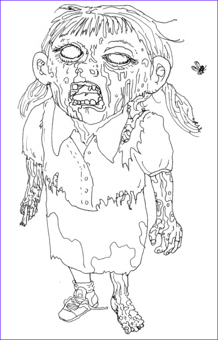Pinterest Coloring Pages Unique Images Girl Zombie Coloring Page Crafty Pinterest