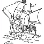 Pirate Coloring Pages Beautiful Gallery Pirate Ship Coloring Page