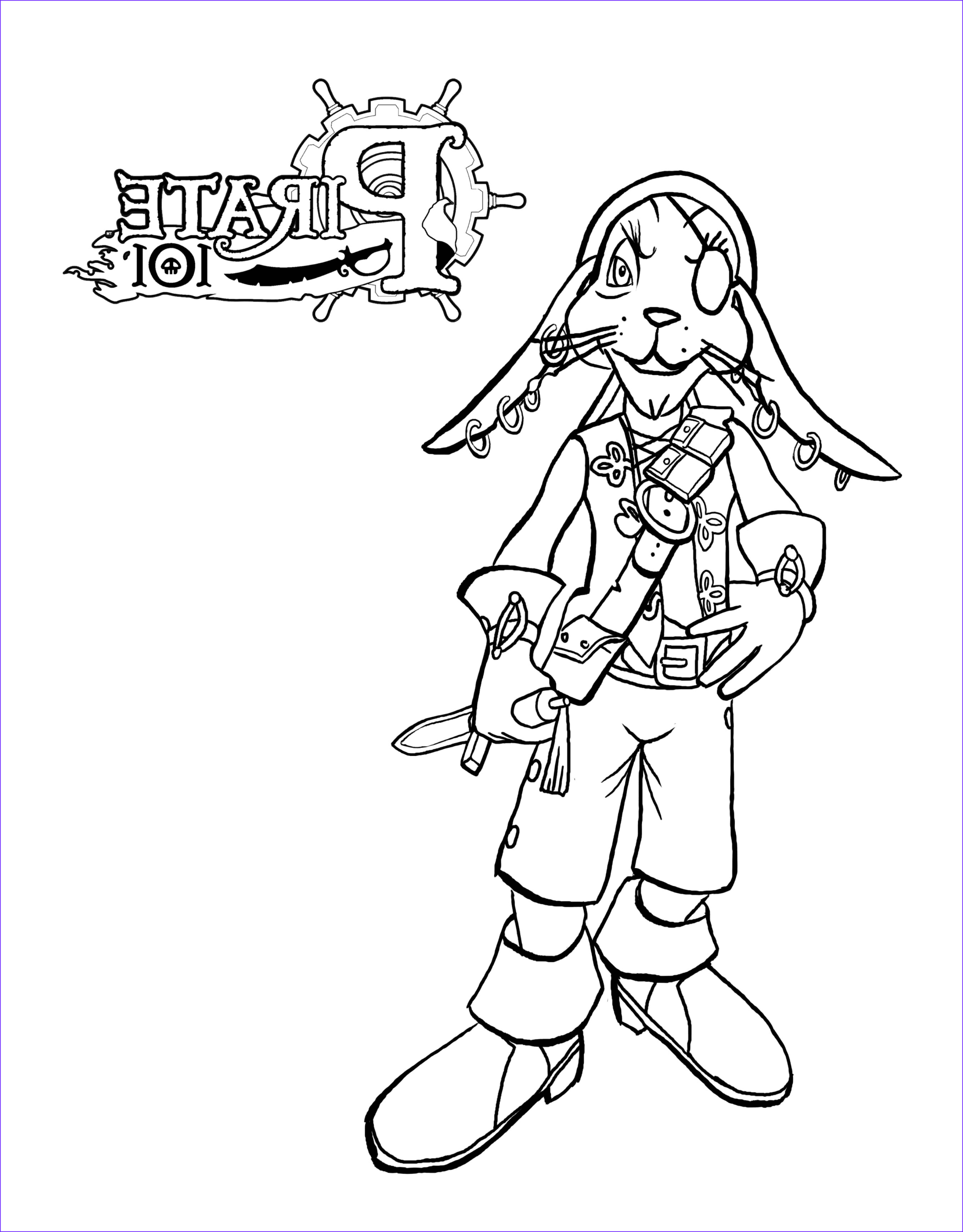 pirate101 coloring pages