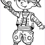 Pirate Coloring Pages Best Of Photos Child Dressed Up Like A Pirate Coloring Page