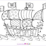Pirate Coloring Pages Elegant Photos Here Are Some Pirate Theme Colouring Pages For You To