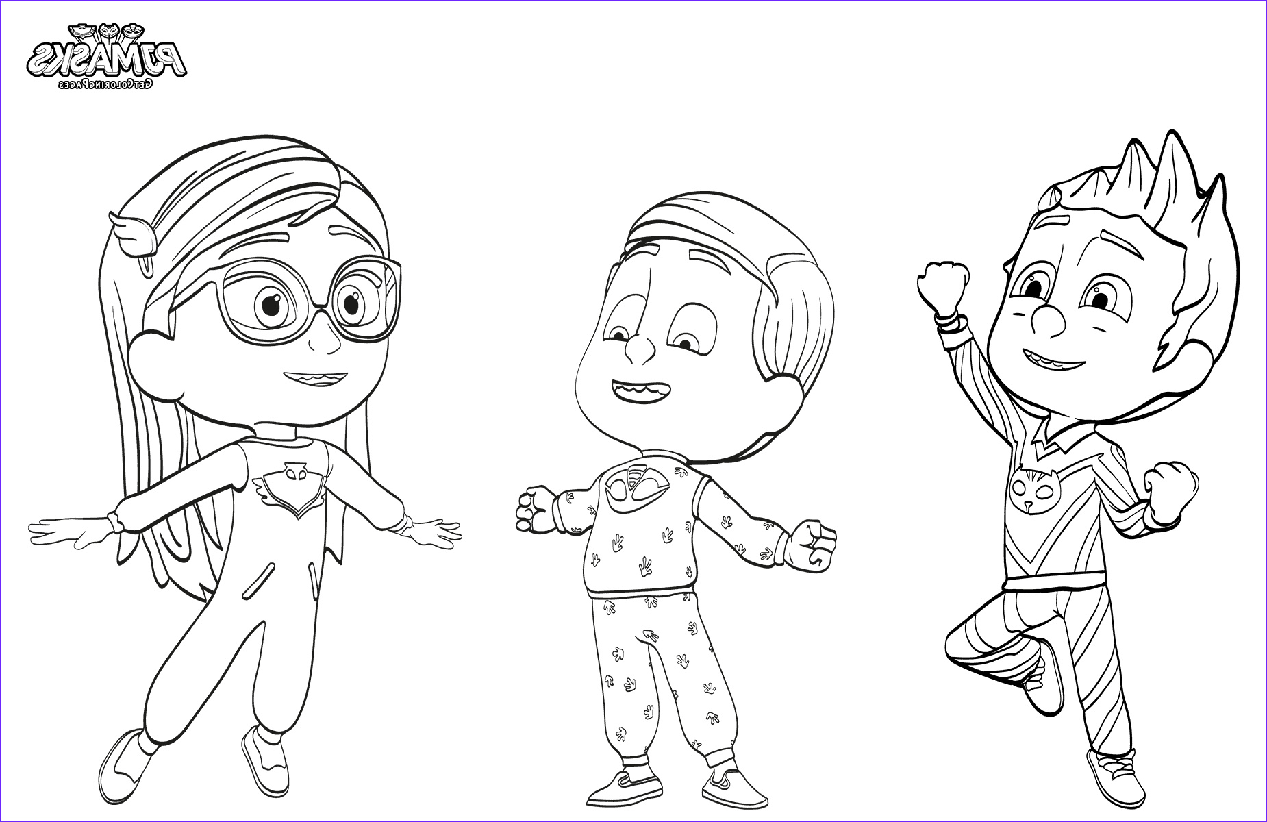 Pj Masks Coloring Cool Images top 30 Pj Masks Coloring Pages
