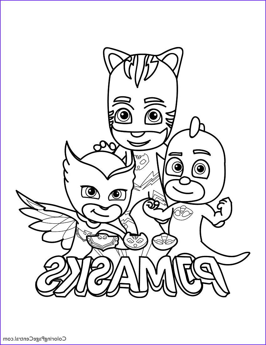 Pj Masks Coloring Luxury Photos Pj Masks Coloring Page 01