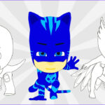 Pj Masks Coloring Pages Awesome Stock Pj Masks Coloring Pages