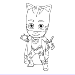 Pj Masks Coloring Pages Beautiful Photos Pj Masks Coloring Pages To And Print For Free
