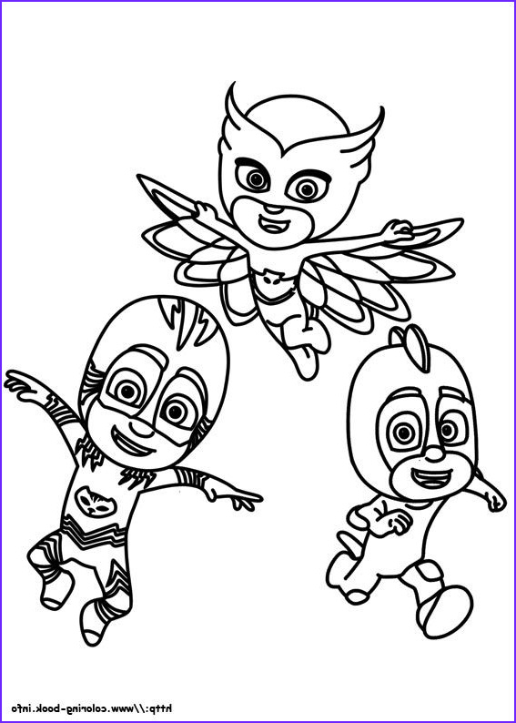 Pj Masks Coloring Pages Cool Images Pj Masks Coloring Picture 2 Color Cute In 2019