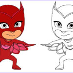 Pj Masks Coloring Pages Inspirational Gallery Pj Masks Owlette Coloring Book Pages Learn Colouring Video