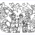 Pokemon Coloring Best Of Collection Ash Brock And Dawn Coloring Page Pokemon Luv