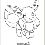 """Pokemon Coloring Pages For Kids Beautiful Image Pokemon """" Eeve """" Coloring Pages Kids"""
