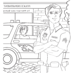 Police Coloring Book Inspirational Photos Leo Police Ficers are Your Friends Coloring Book