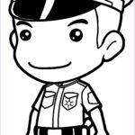 Police Coloring Pages Awesome Photos Police Ficer Drawing At Getdrawings