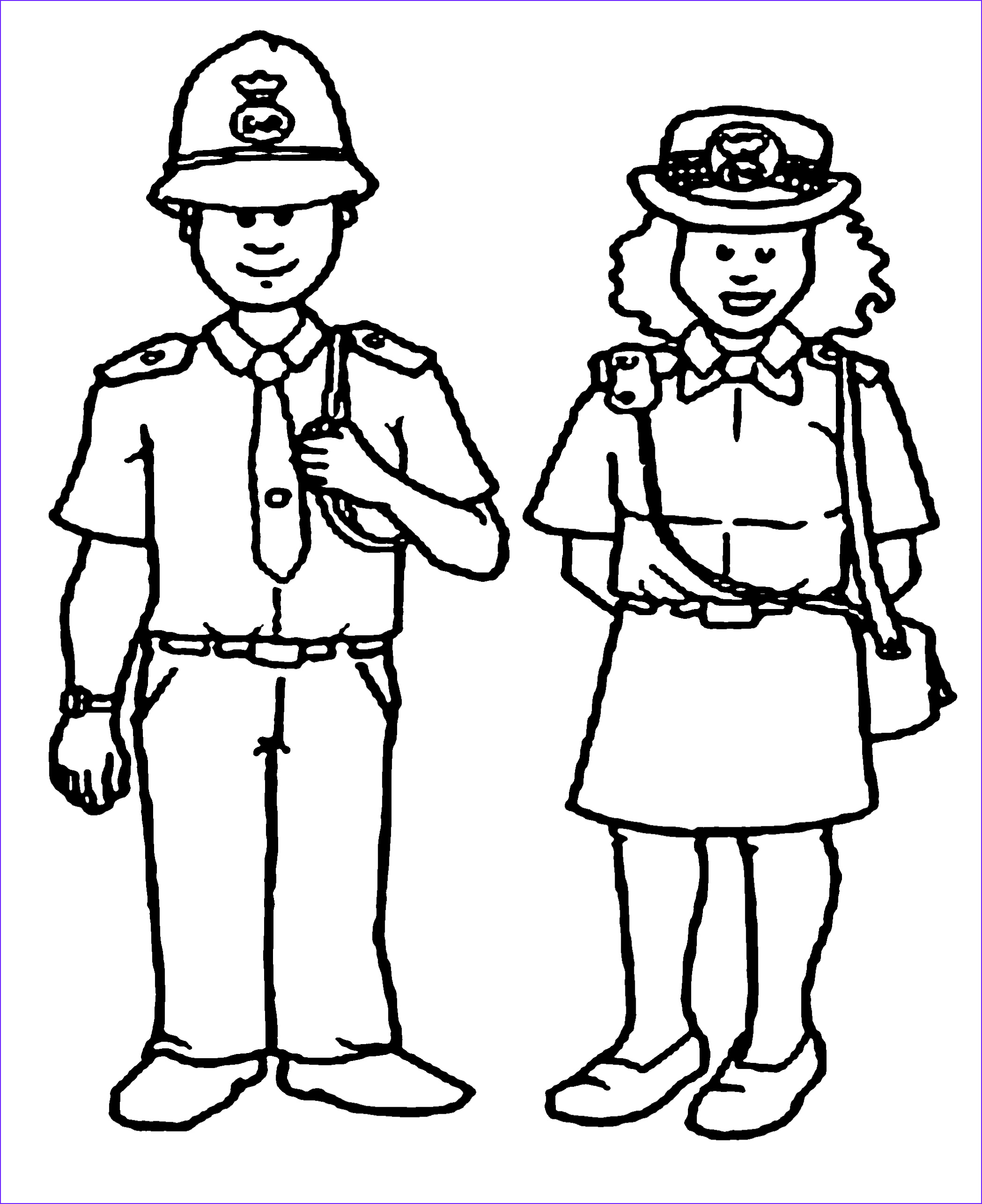Police Coloring Pages Beautiful Photos Police Women and Policeman Coloring Pages