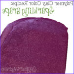 Polymer Clay Coloring Best Of Gallery Polymer Clay Color Recipe Sparkling Grape Metallic Purple