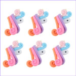 Polymer Clay Coloring Inspirational Photos 10pcs Polymer Clay Color Mixing Cute Unicorn Charms