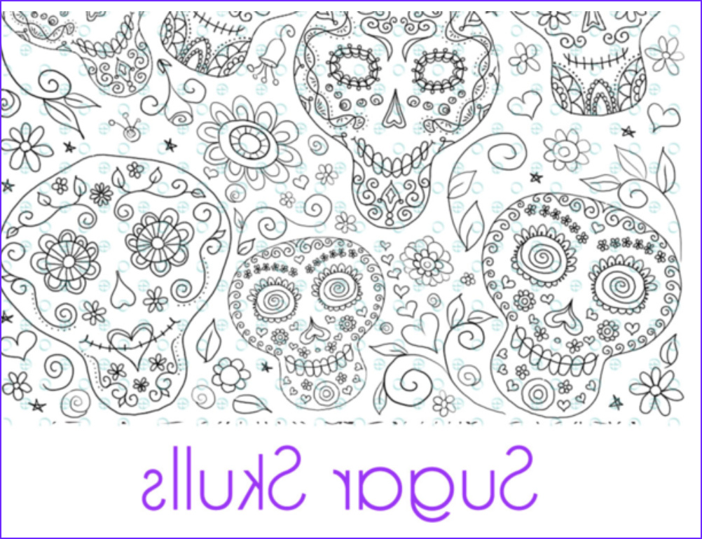 Polymer Clay Coloring New Collection Color Me Magic Transfers Sugar Skull Pre Printed Magic