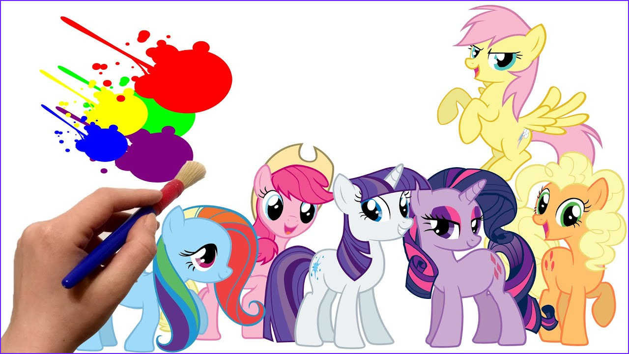 Ponies Coloring Beautiful Stock My Little Pony Friendship is Magic Coloring Book for Kids