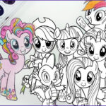 Ponies Coloring Best Of Photos Coloring Pages My Little Pony Colouring For Kids Mlp