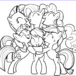 Ponies Coloring Inspirational Collection My Little Pony Coloring Pages For Girls Print For Free Or