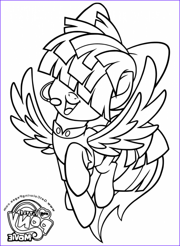 Ponies Coloring Inspirational Collection Printable My Little Pony the Movie 2017 Coloring Pages