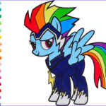 Ponies Coloring Inspirational Gallery My Little Pony Coloring Book Rainbow Dash Power Ponies Go
